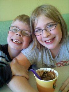 Our very first Frozen Yogurt Friday!